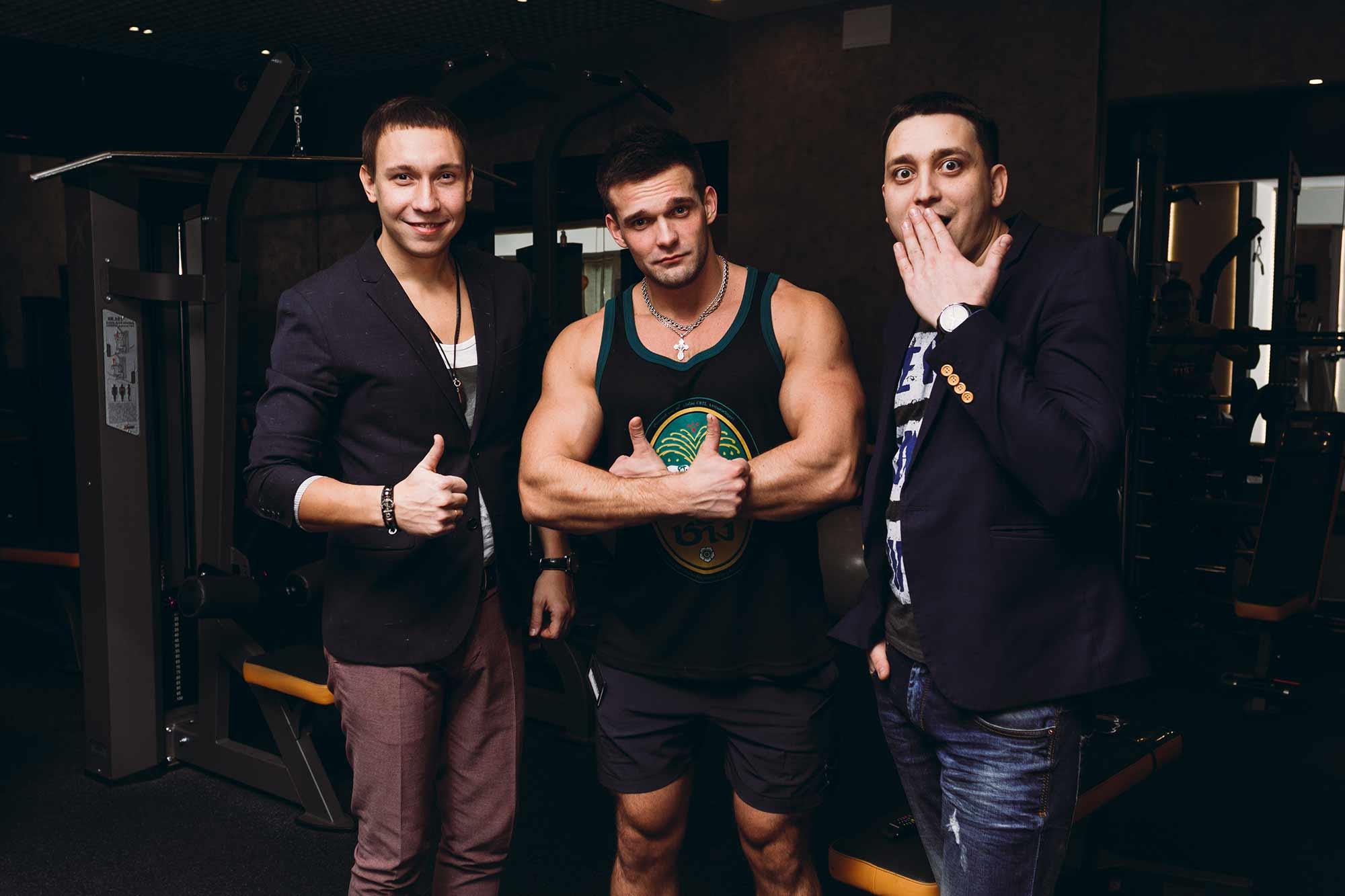 Открытие фитнес-клуба Неофит